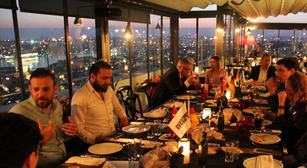 Oventrop İklimlendirme Sektörü Duyaenlerini Rixos Pera Park Şamdan'da Verdiği Yemekle Ağırladı