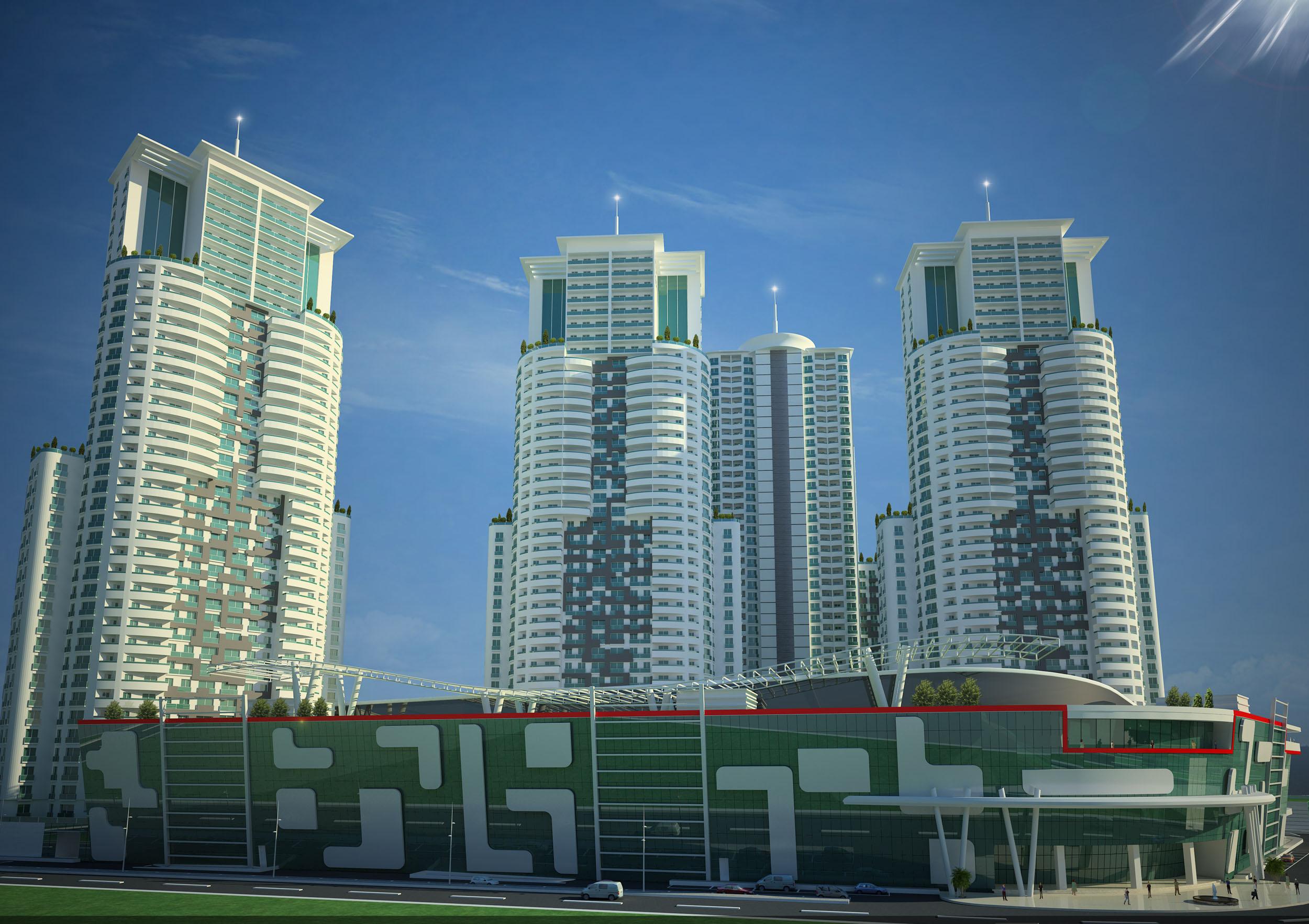 Balkanlar'ın en yüksek projesi Sky City'nin tercihi Aironn!