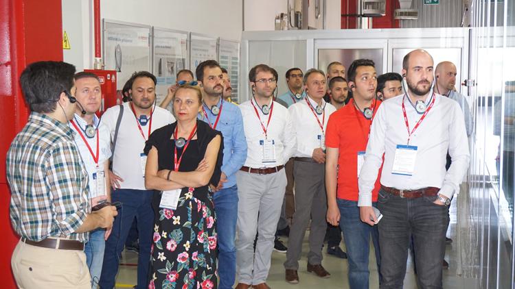 Bosch Termoteknik Manisa Fabrikasına Gaz Şirketlerinden Ziyaret