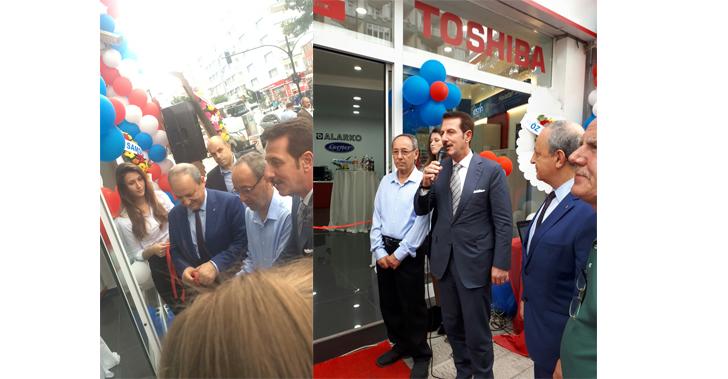 Alarko Carrier'ın, Samsun İlkadım'da hizmet verecek yetili satıcısı hizmete açıldı.