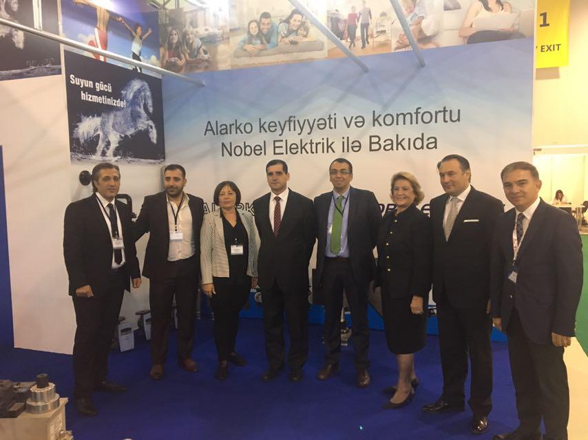 Alarko Carrier, Azerbaycan'da Gerçekleştirilen Aqua – Therm Bakü Fuarı'na Katıldı