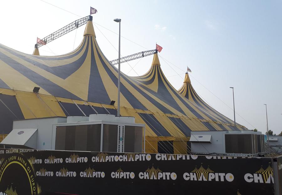 """""""Avrupa'nın En Büyük Şov Arenası"""" Chapito, Alarko Carrier İle Serinliyor!"""