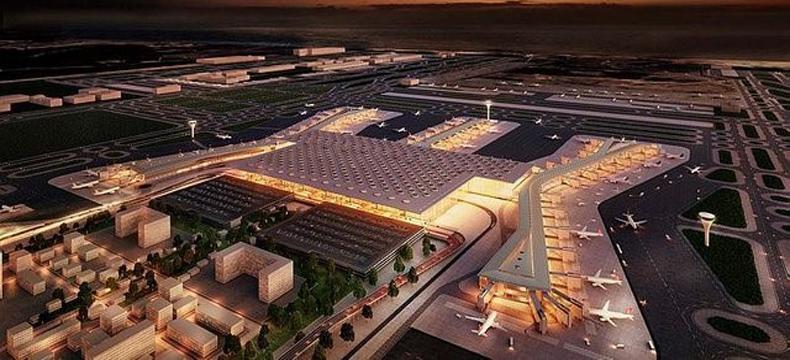 Dünyanın en büyük havalimanı projesi`nin yangın korunumunda  norm teknik imzası