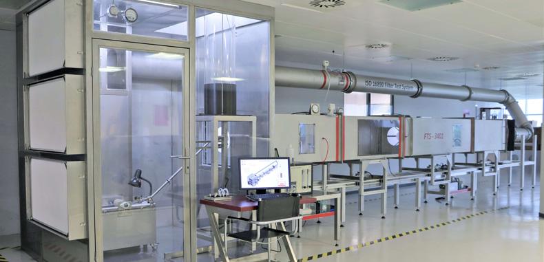 ULPATEK Filtre 2019 yılında, ULPALAB test laboratuvarında ARGE çalışmalarına devam ediyor