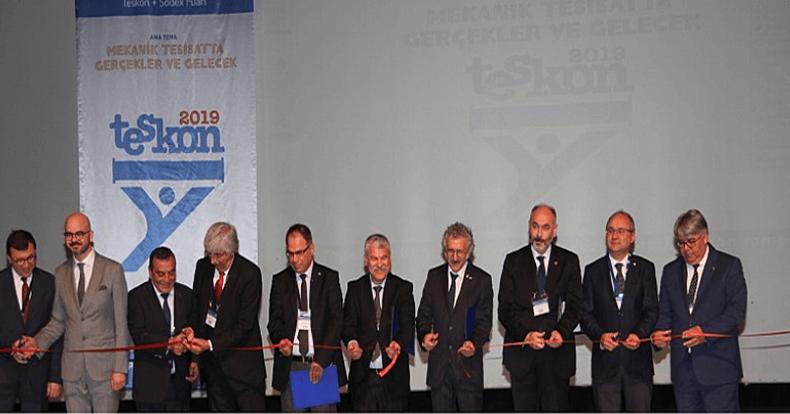 İSKİD, 14.Türk Tesisat Mühendisleri Kongresi ve Teskon + SODEX Fuarı'nda ziyaretçileriyle buluştu