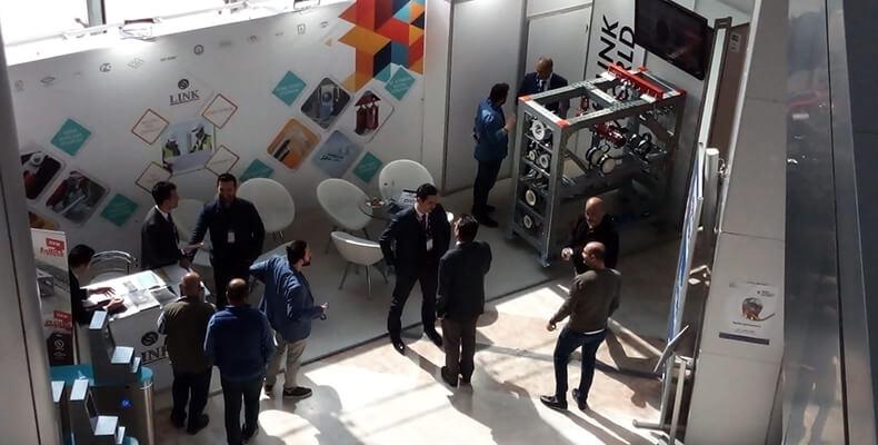 LINK YAPI, Sektörümüzün En Önemli Fuarlarından Biri Olan Teskon+Sodex Fuarı'na Katıldı