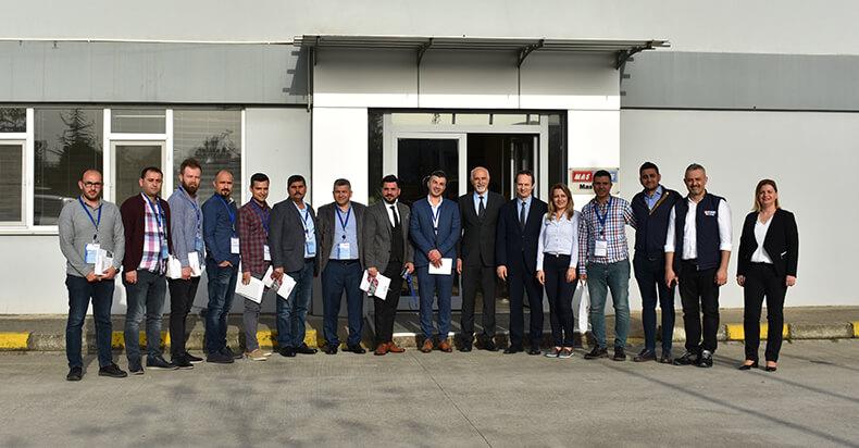 MAS DAF Fabrikası, Adanalı Endüstriyel Tesis Yöneticilerini Ağırladı